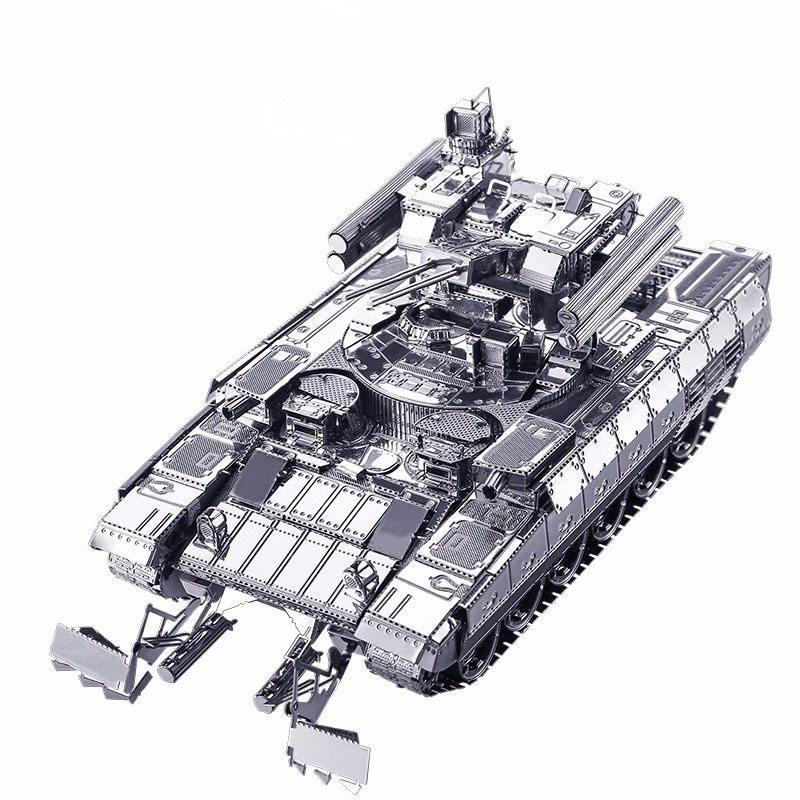 Mô hình thép 3D tự ráp cao cấp xe tank BMPT tank