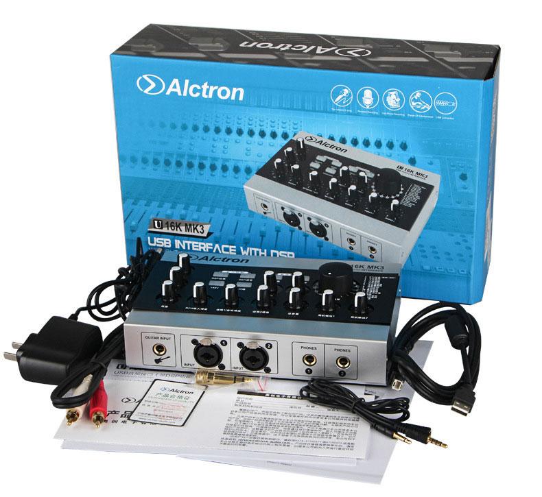 Sound Card Hát Karaoke - Alctron U16K MK 3_Chính hãng.