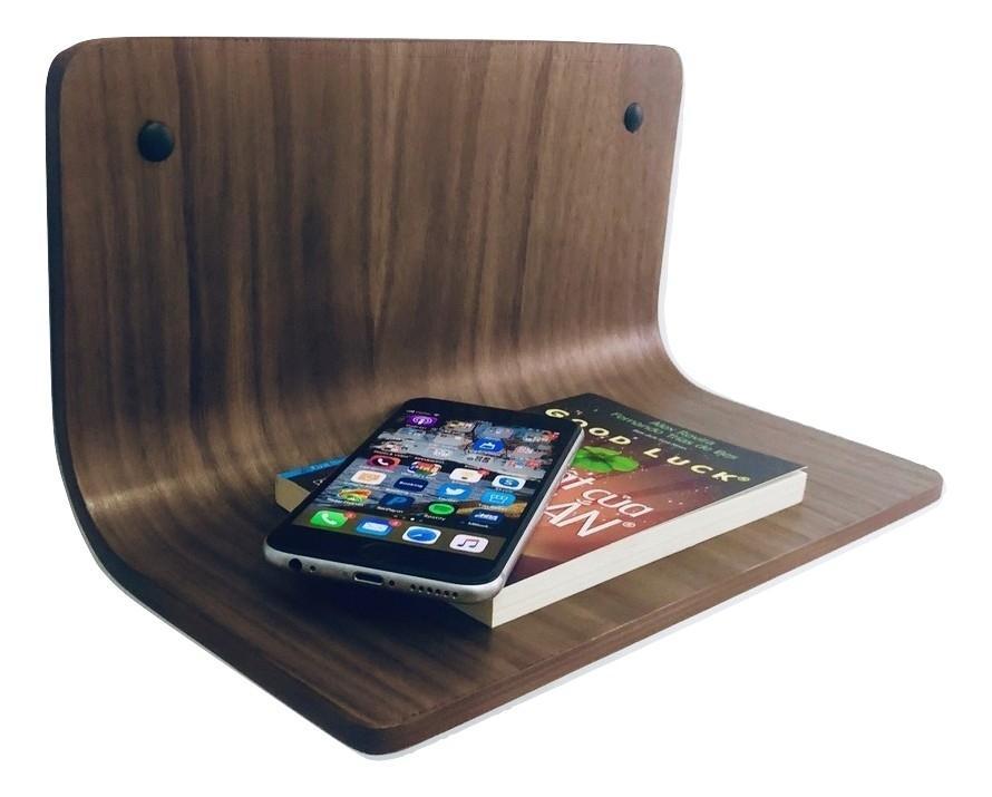 Kệ đầu giường Salsa Side Shelf; SS0101 - Màu Walnut