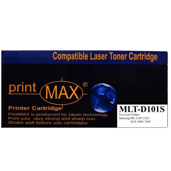 Hộp mực PrintMax dành cho máy SamSung mã MLT D101S  - Hàng Chính Hãng