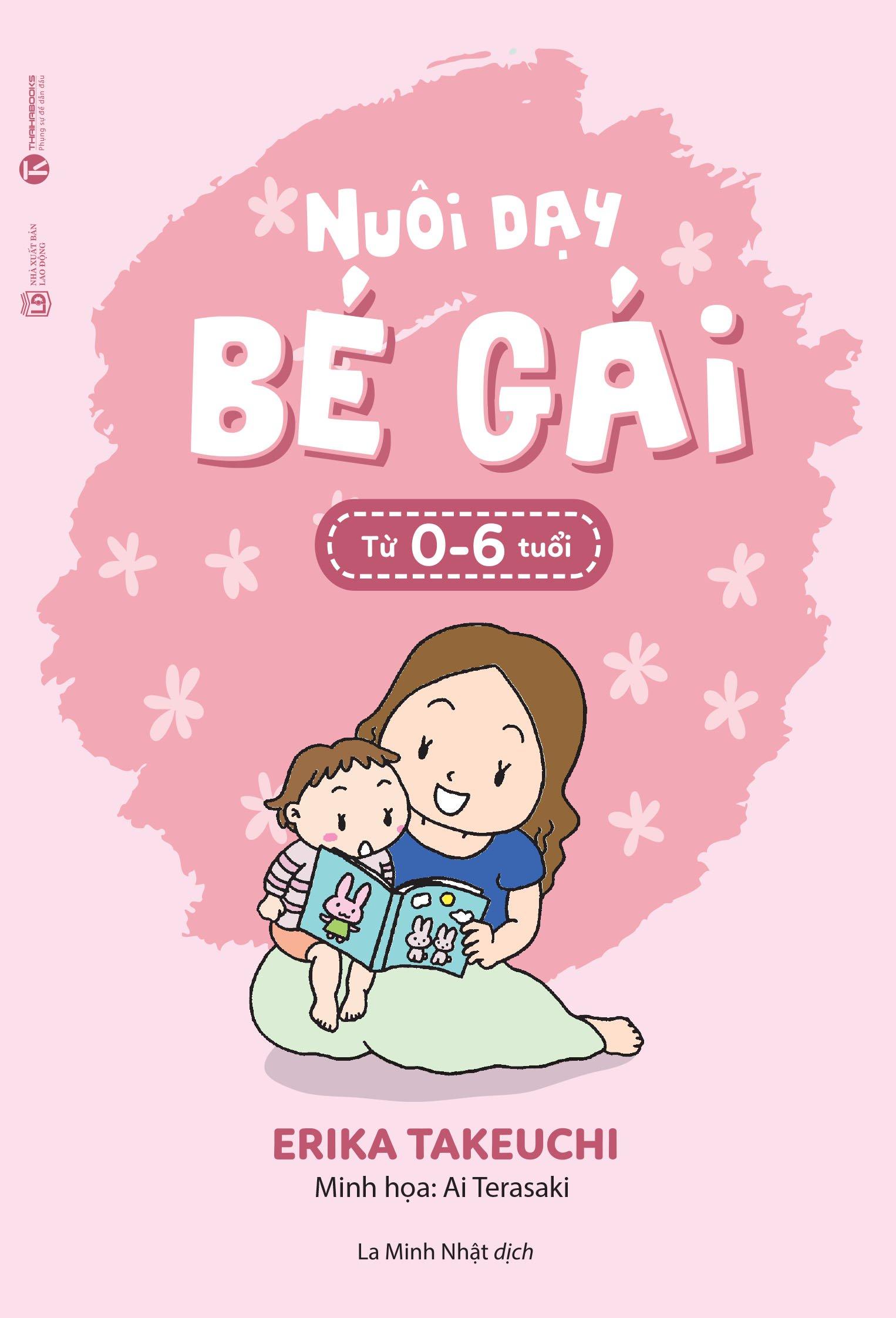 Combo sách Nuôi dạy bé gái từ 0-6 tuổi và Nuôi dạy bé trai từ 0-6 tuổi (trọn bộ 2 cuốn)
