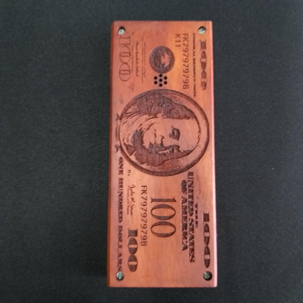 Vỏ gỗ cho điện thoại Nokia 107