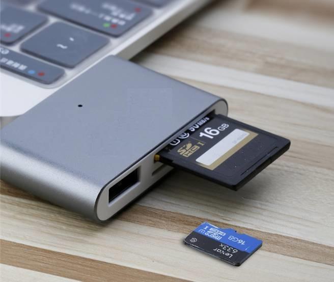 Đầu đọc thẻ nhớ đầu USB Type-C 3.0