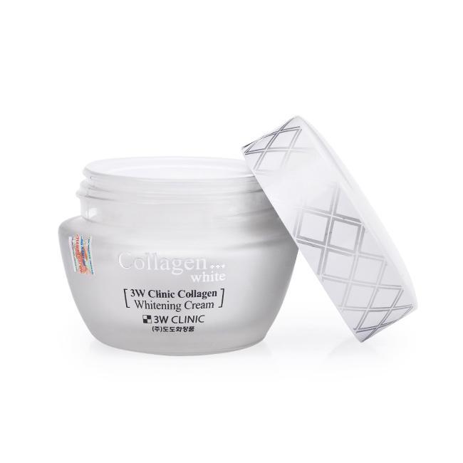 Kem Dưỡng Trắng Sáng Da 3W Clinic Collagen (Trắng) (60ml)