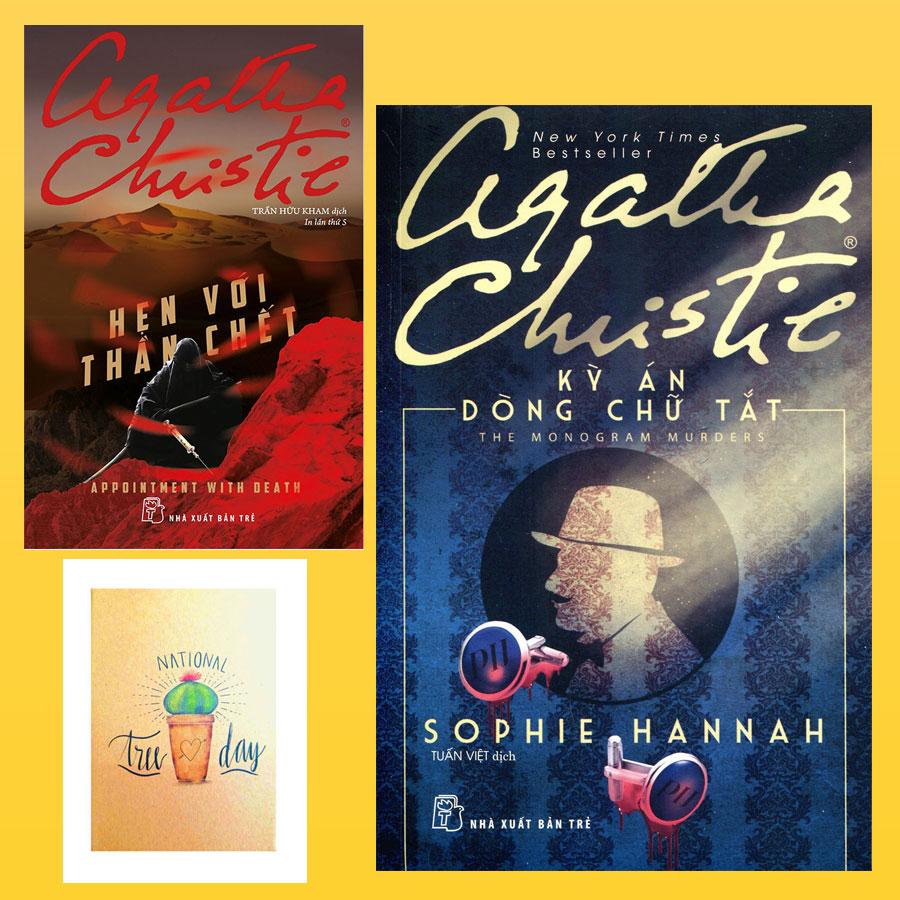 Combo Agatha Christie: Hẹn Với Thần Chết và Kỳ Án Dòng Chữ Tắt ( Tặng Kèm Sổ Tay Xương Rồng )