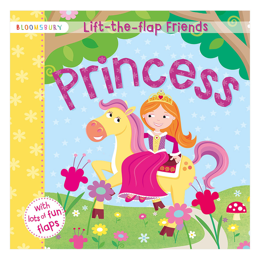 Lift-The-Flap Friends Princess