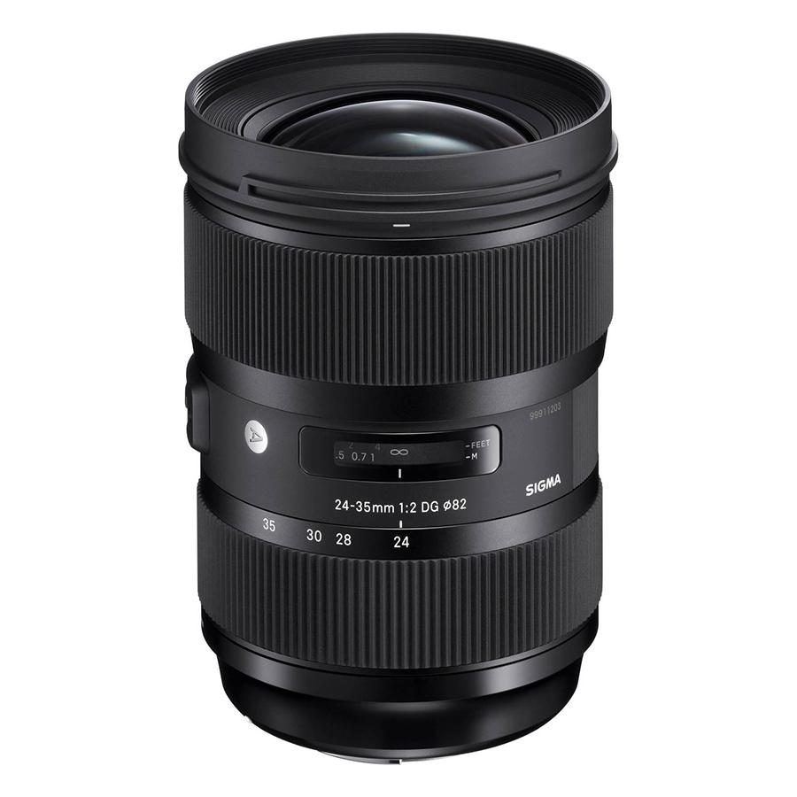 Ống kính Sigma 24-35 F2 DG HSM For Nikon - Hàng chính hãng
