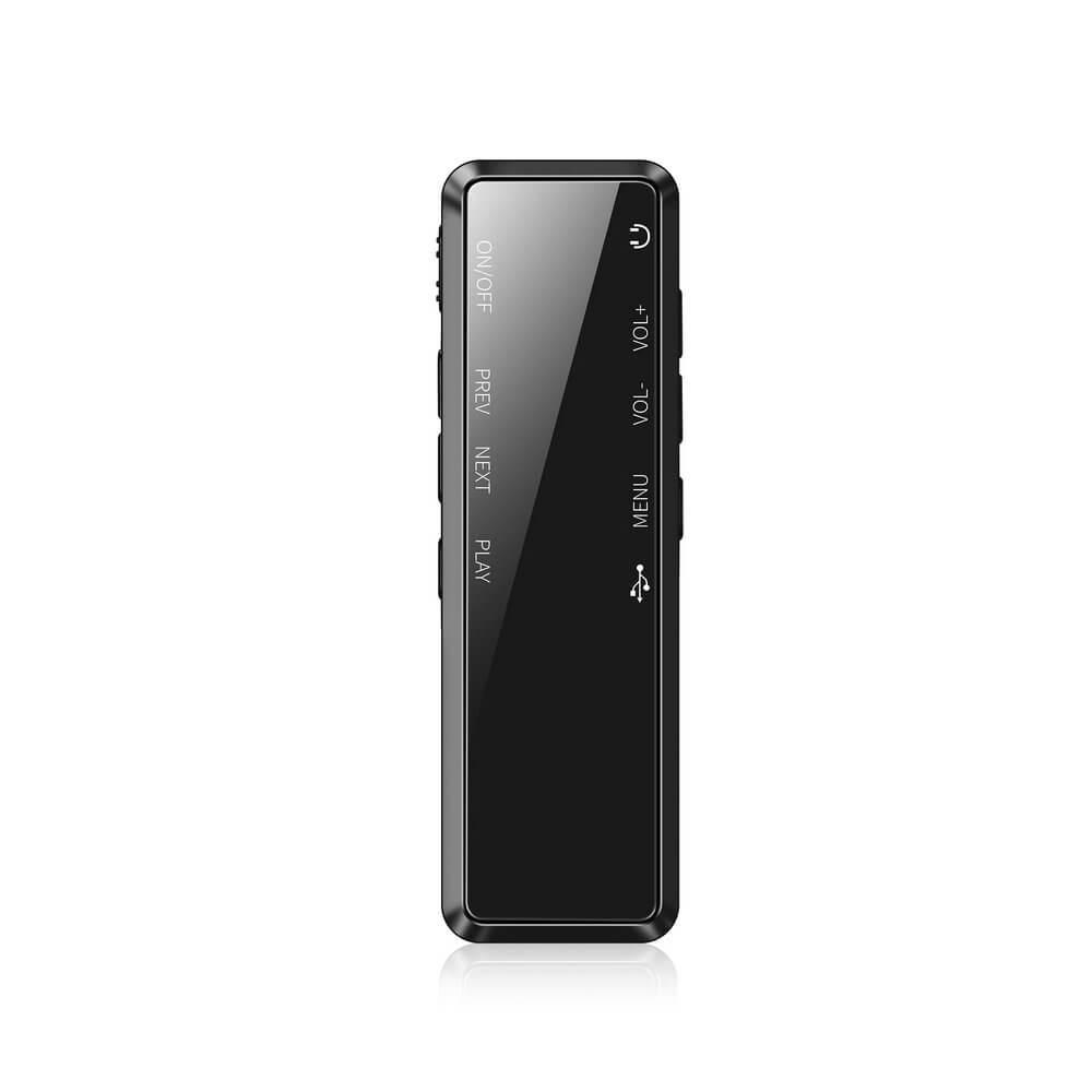 Máy Ghi Âm, Thiết Bị Ghi Âm siêu nhỏ chuyên dụng DVR 818 pin trên 35H - Hàng Chính Hãng