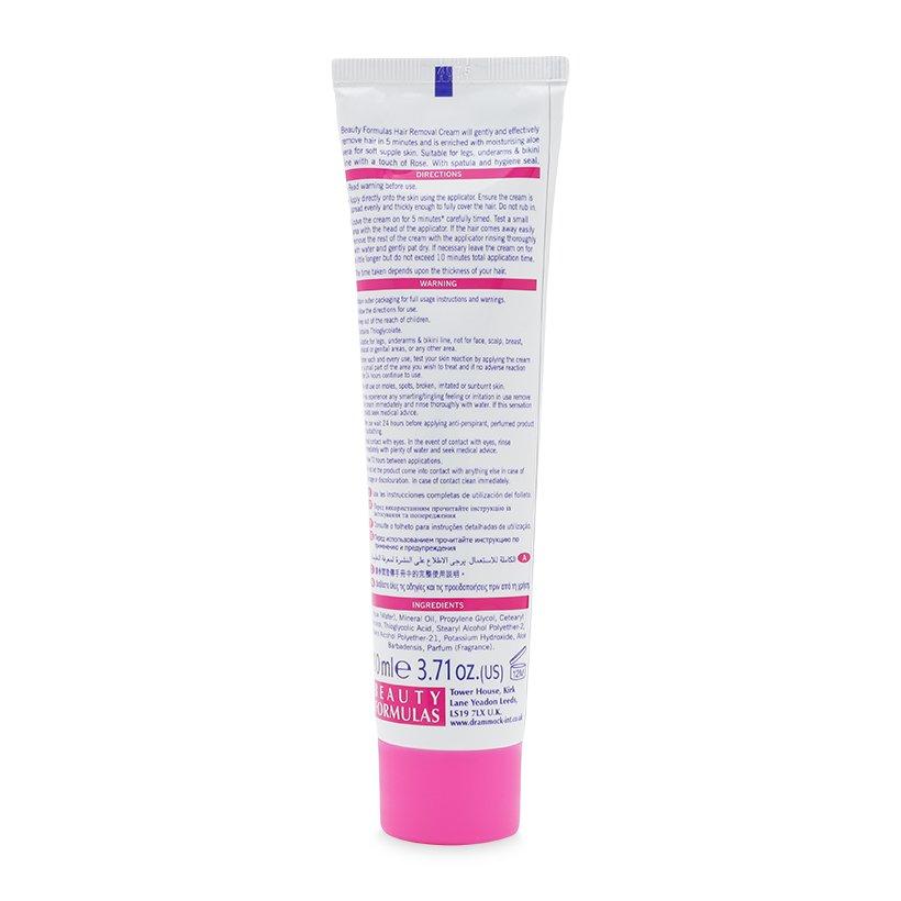 Kem tẩy lông Beauty Formulas Hair Removal Cream 110ml