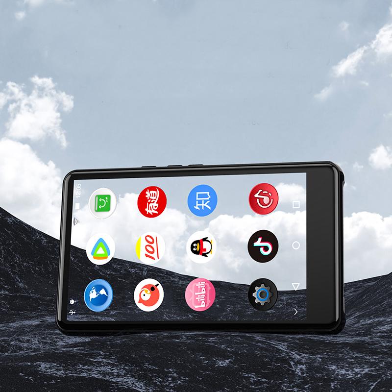 Máy Nghe Nhạc Ruizu H6 Cảm Ứng Hệ Điều Hành Android 5.1 Có Wifi Bluetooth - Hàng Chính Hãng