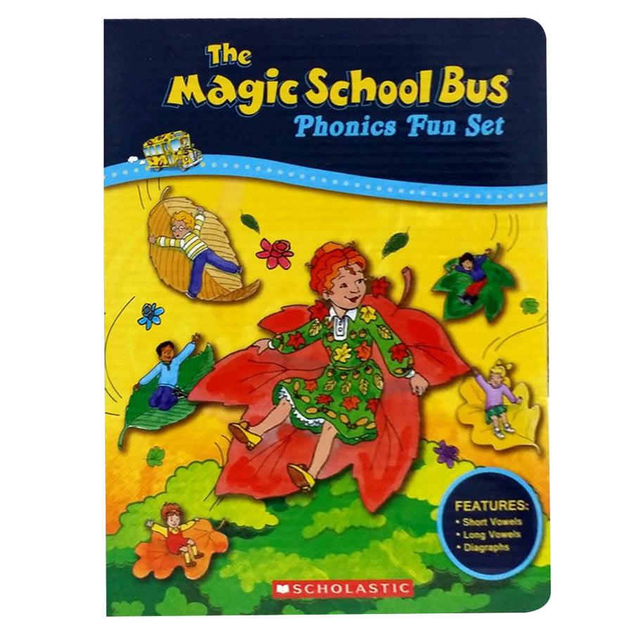 Magic School Bus Phonics Fun Set 12-Book (W/ Cd) - Chuyến Xe Khoa Học Kỳ Thú
