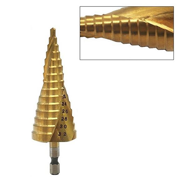 Mũi khoan tháp xoắn 4-32MM - Chui lục giác hộp nhựa