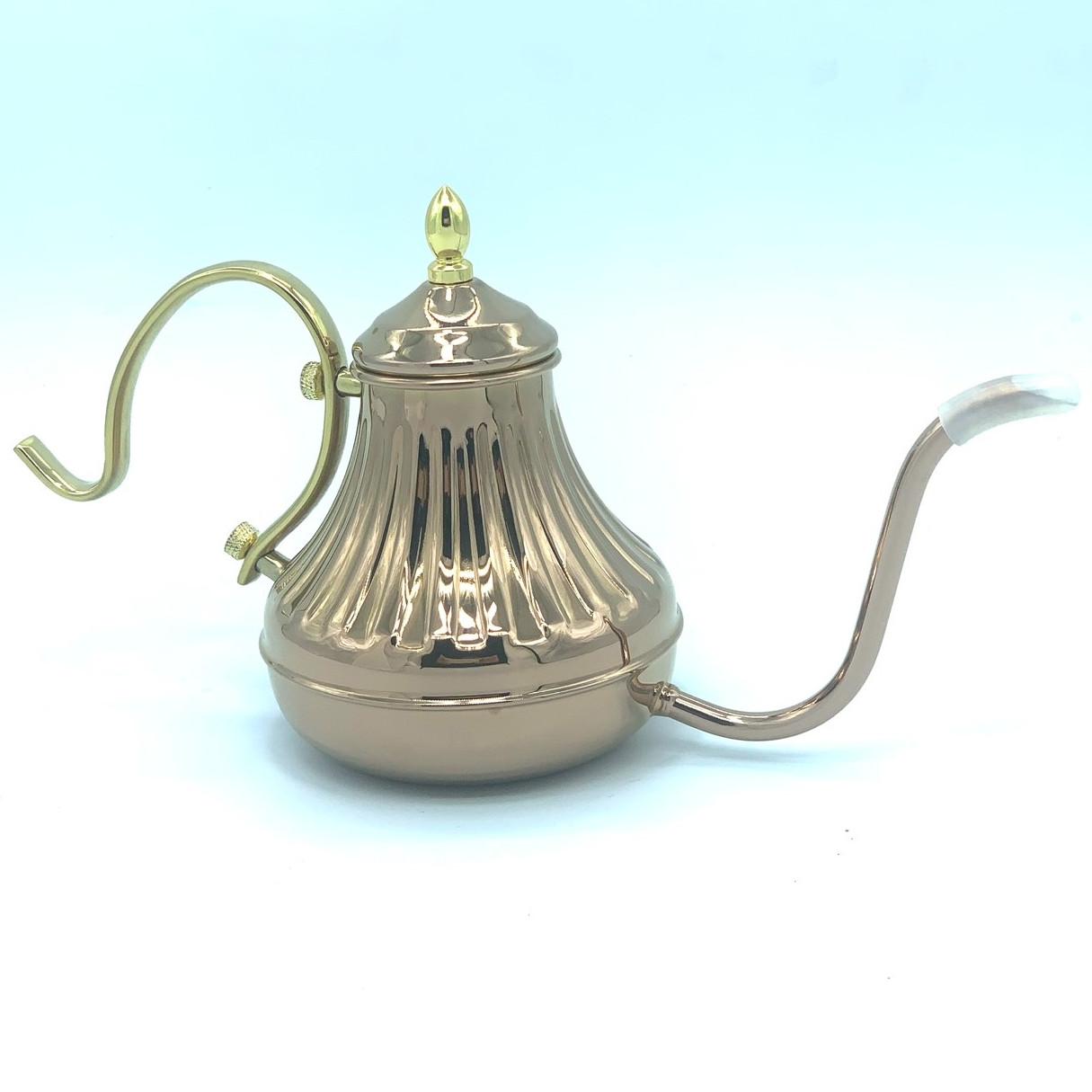 Bình( Ấm) đun nước Coffee Drip( 450cc) - Màu Vàng