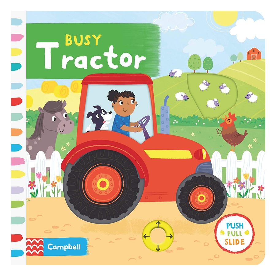 Cambell Fush Full Slide Series: Busy Tractor