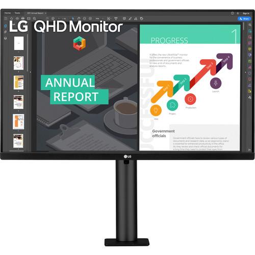 Màn hình LG 27QN880-B 27 inch QHD (2560x1440) 5ms / 75Hz / IPS / HDR10 / AMD FreeSync / USB Type-C / Maxx Audio (5W) - Hàng Chính Hãng