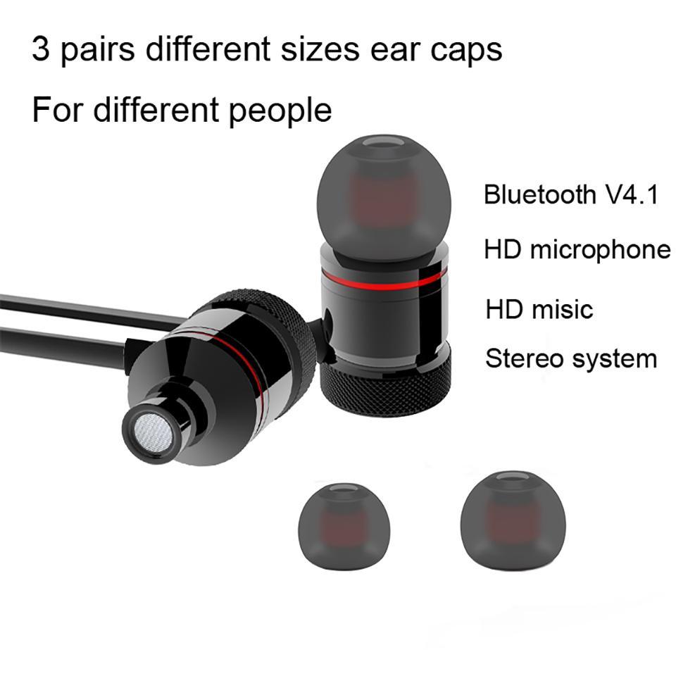 Tai Nghe Bluetooth Sport S8 –Hai đầu nam châm  Âm Thanh Siêu Bass - Hàng chính hãng