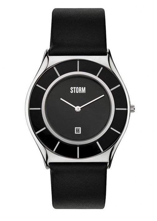 Đồng hồ đeo tay hiệu STORM SLIMRIM BLACK