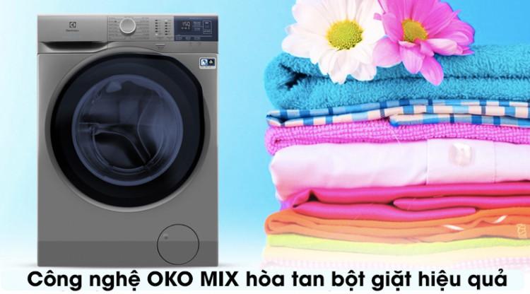 Máy giặt Electrolux EWF8024ADSA - công nghệ oko mix hòa tan bột giặt hiệu quả