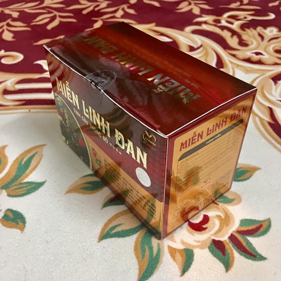 Thực phẩm chức năng ngăn ngừa u xơ tử cung, u xơ tuyến tiền liệt MIỄN LINH DAN với chiết xuất tinh dầu thông đỏ