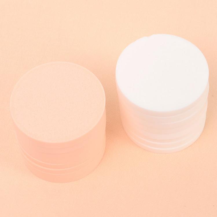 Bộ 16 bông mút đánh phấn hình tròn siêu mềm mịn phong cách Hàn Quốc - MN001 2