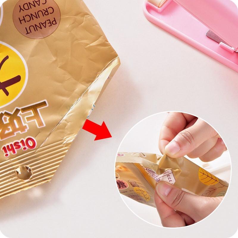 Hàn miệng túi cầm tay - hàn túi đựng thực phẩm