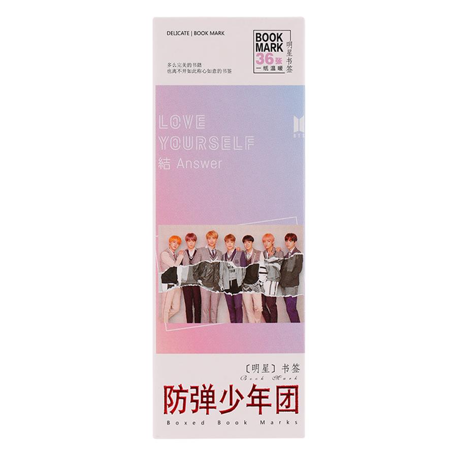 Bộ Bookmark Ban Nhạc BTS Mới
