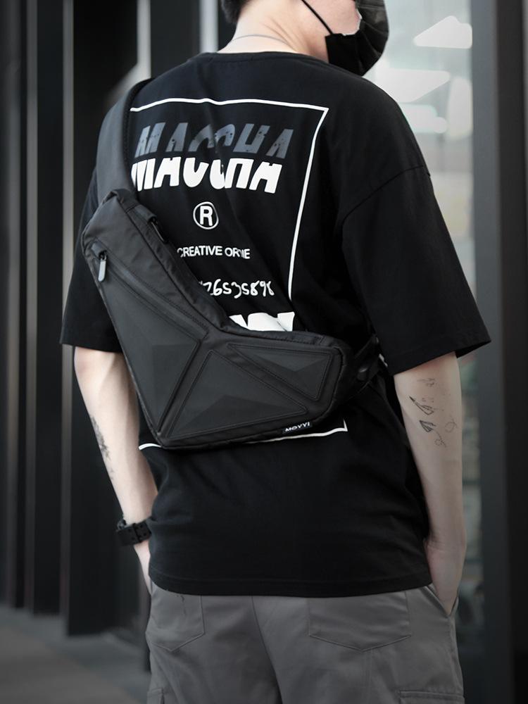 Túi đeo chéo boomerang vải oxford cao cấp thời trang TDC003 - cá tính - chống nước - chống xước