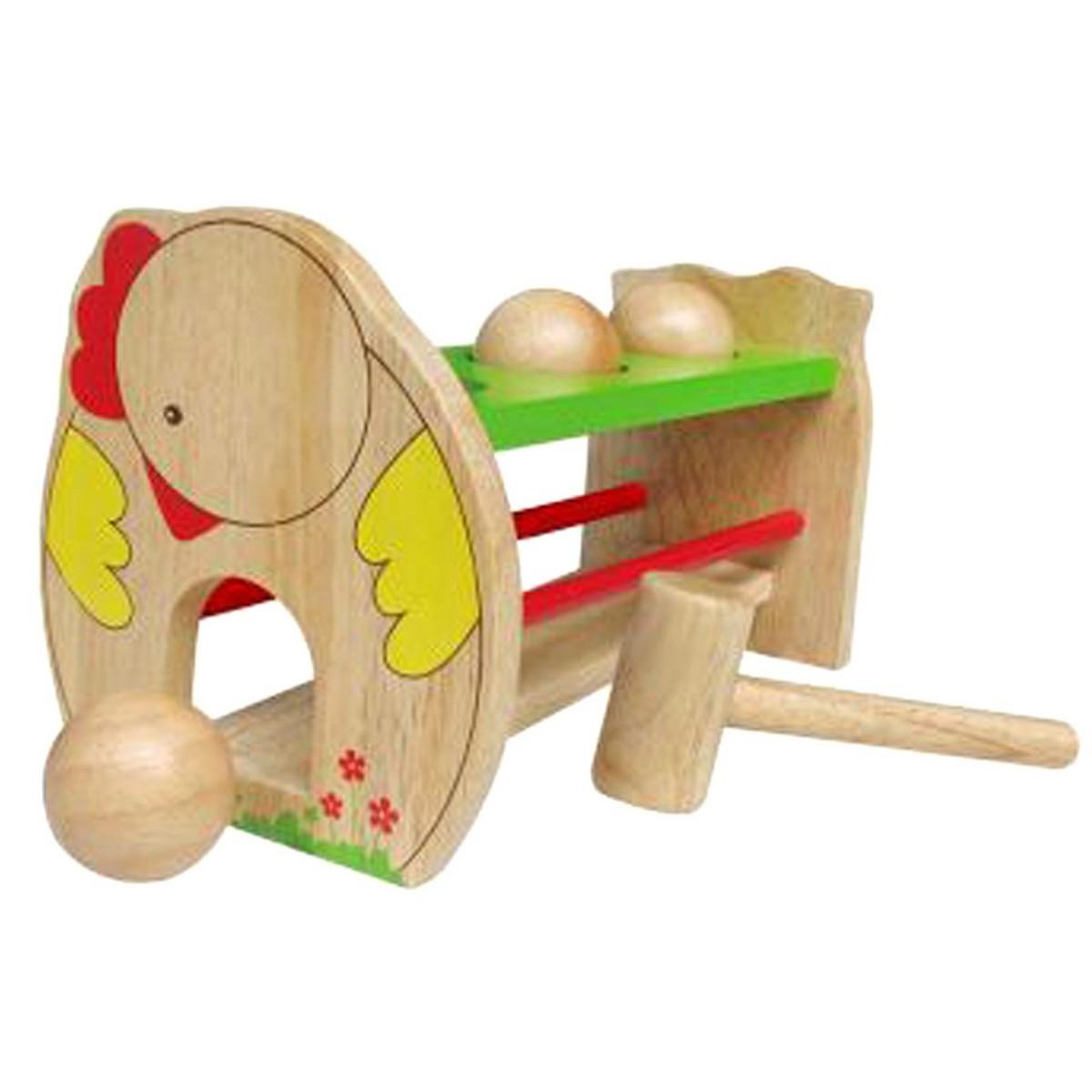 Đồ chơi gỗ Trò Chơi Đập Banh  Mk
