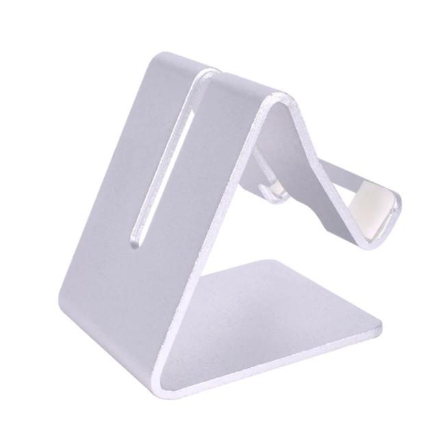 Giá đỡ điện thoại smartphone hợp kim nhôm nguyên khối Holder-Fix hiệu Hotcase (vật liệu cao cấp, bền màu) - Hàng nhập khẩu