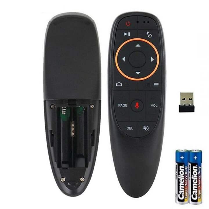Điều khiển chuột bay Air Mouse G10S - Có tìm kiếm bằng giọng nói
