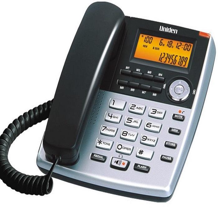 Điện thoại bàn UNIDEN AS7401-HÀNG CHÍNH HÃNG