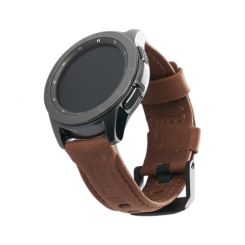 Dây đeo Samsung Galaxy Watch 42mm UAG Leather Series - hàng chính hãng