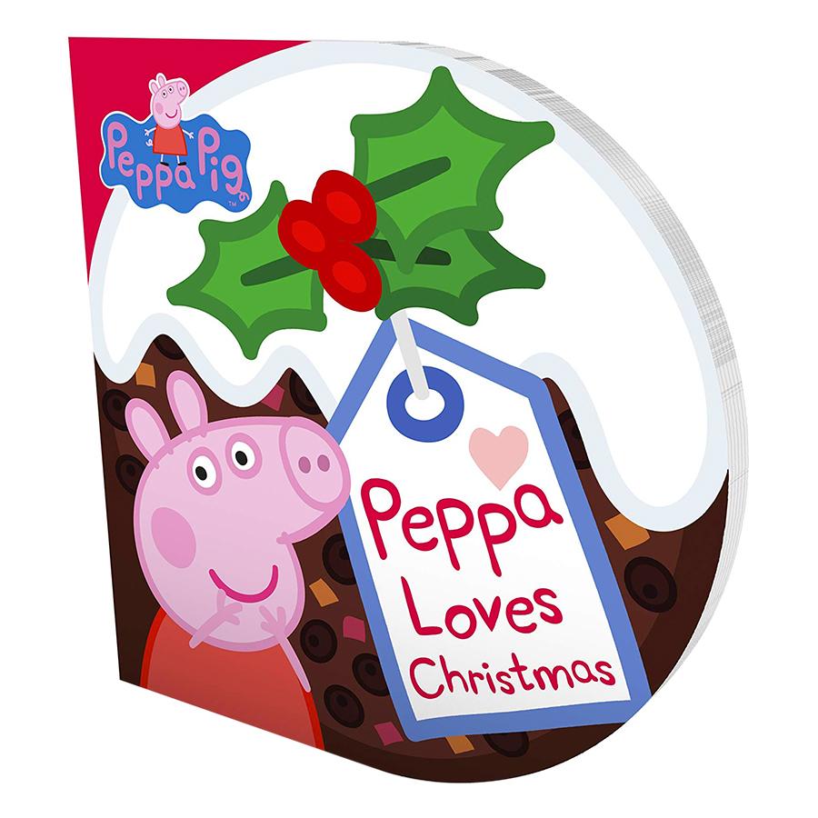 Peppa Pig: Peppa Loves Christmas - Peppa Pig (Board book)