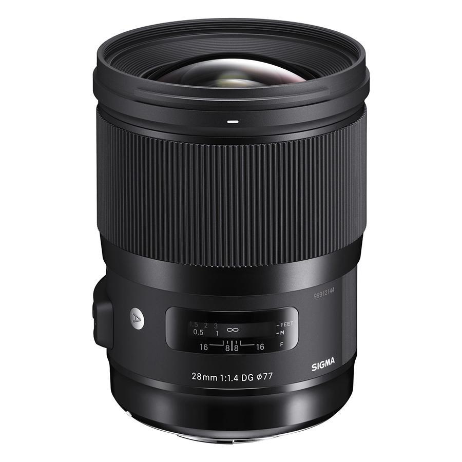 Ống Kính Sigma 28 F/1.4 DG HSM Art For Canon - Hàng Chính Hãng