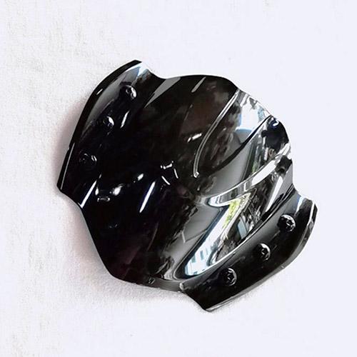 Mão SH 2020 Trong Suốt Màu Đen Khói MS3100 - Tặng Thêm 1 Móc Khóa Lò Xo Inox