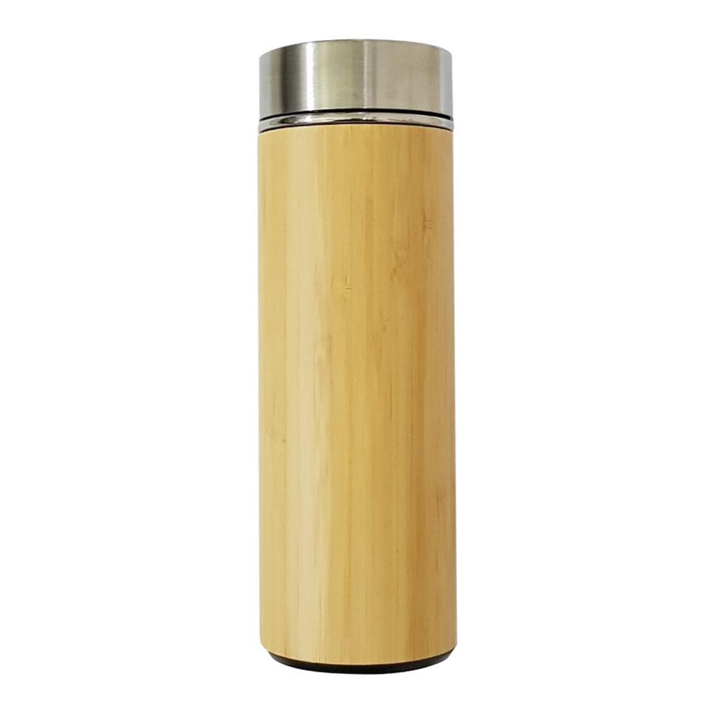 Bình giữ nhiệt vỏ tre 420ml