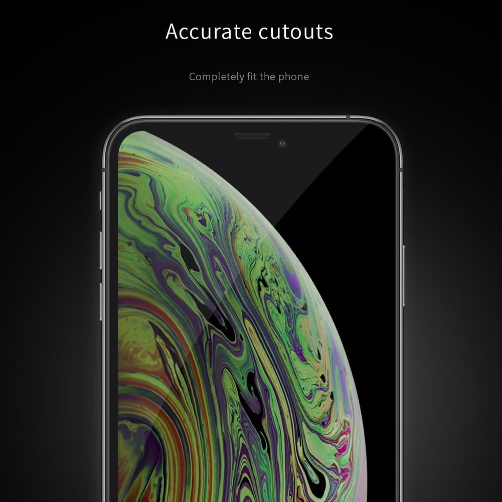 Miếng dán cường lực 3D full màn hình cho iPhone 11 6.1 inch / iPhone XR hiệu Nillkin XD CP + Max (Mỏng 0.23mm, Kính ACC Japan, Chống Lóa, Hạn Chế Vân Tay) - Hàng chính hãng