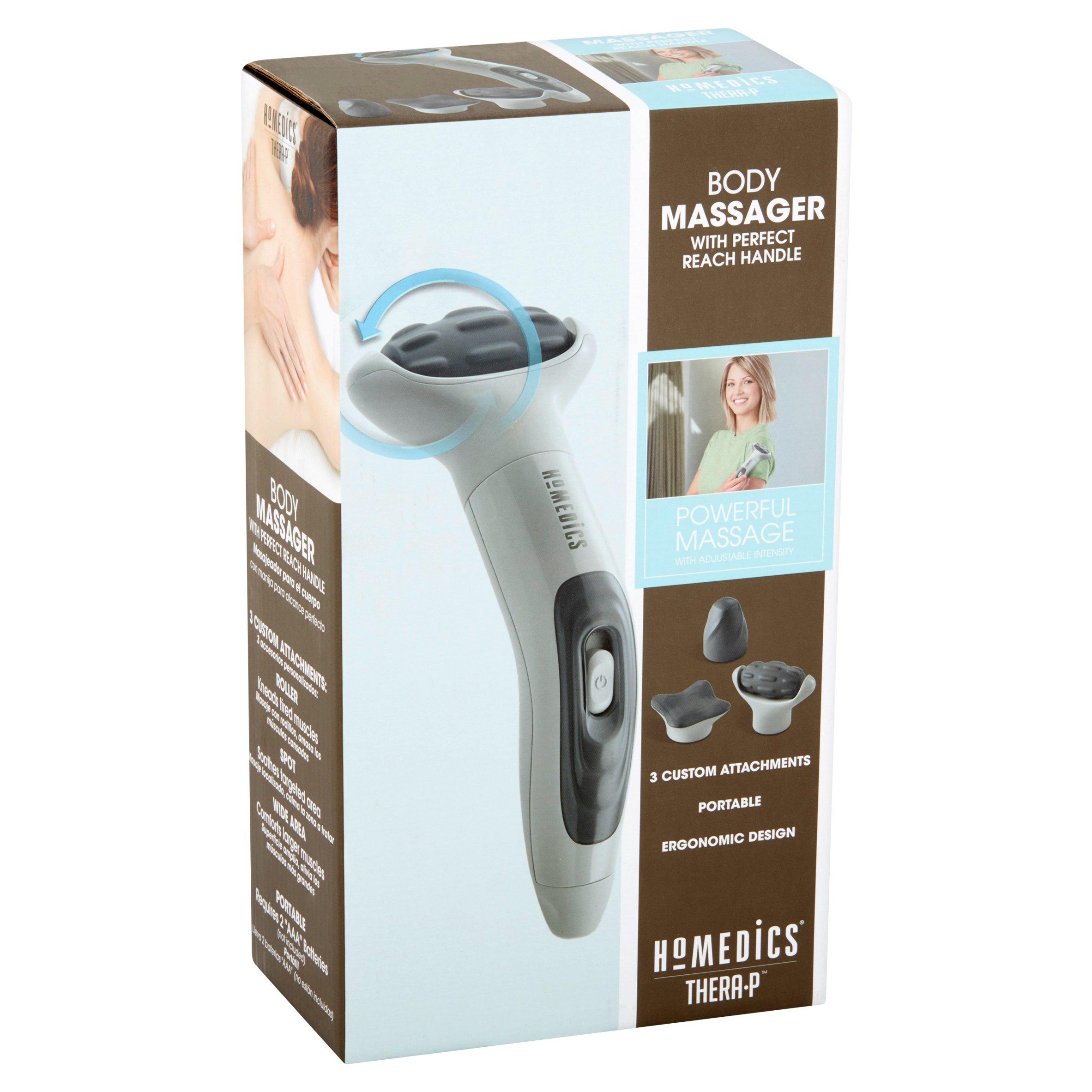 Máy massage cơ thể cầm tay USA mini HoMedics HHP-110J nhập khẩu chính hãng USA (3 đầu massage )
