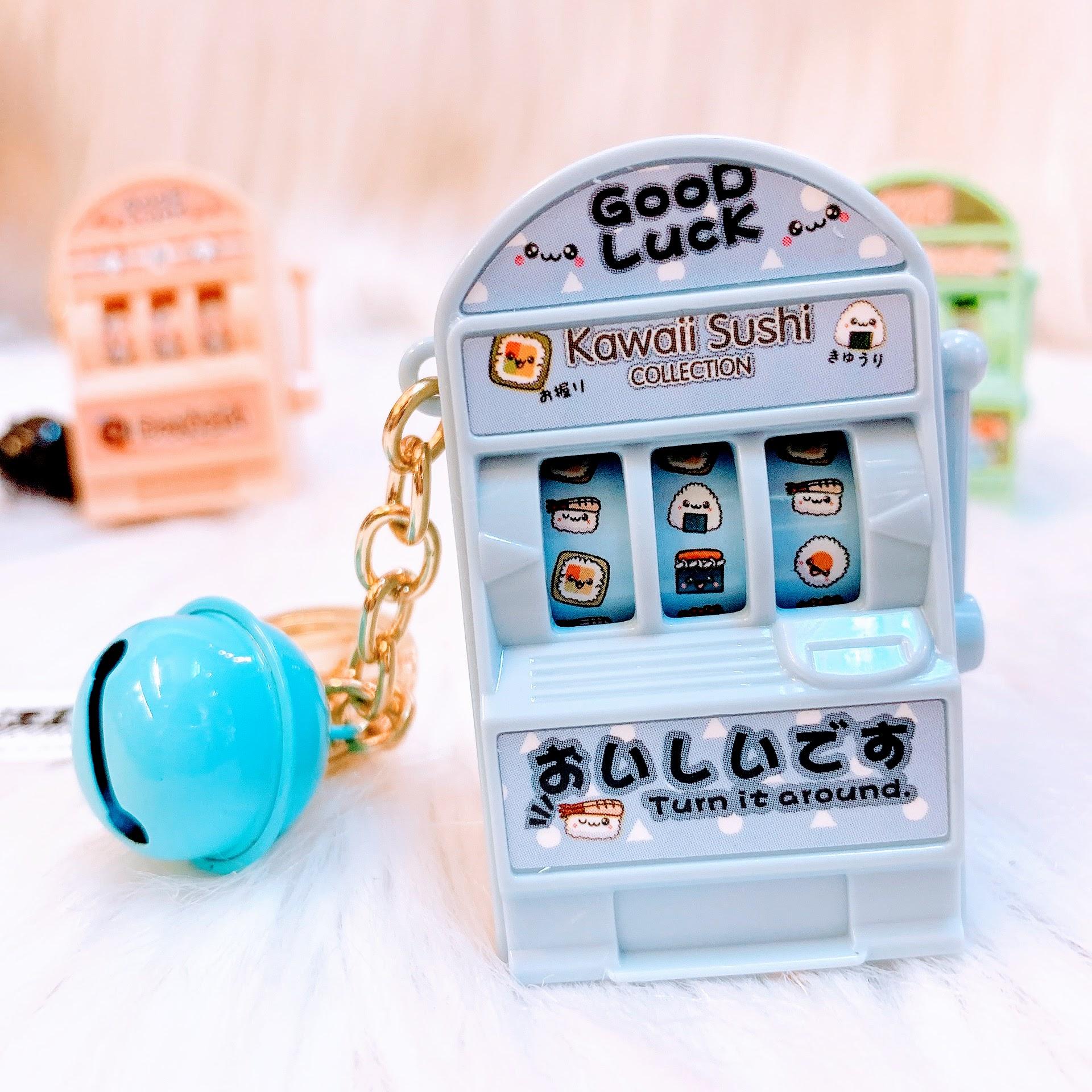 Móc Khóa Máy Slot Mini (Kawai) - 1 Cái - Giao Màu Ngẫu Nhiên