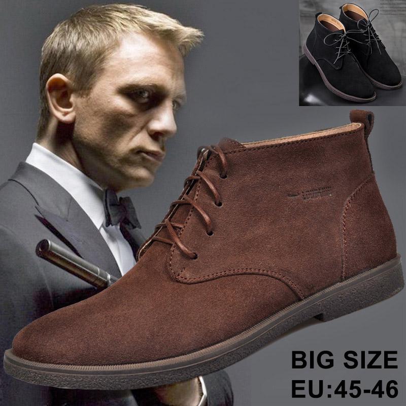 Giày Boot (bốt) Chukka-Desert, giày cổ cao big size cỡ lớn cho nam chân to cân đối