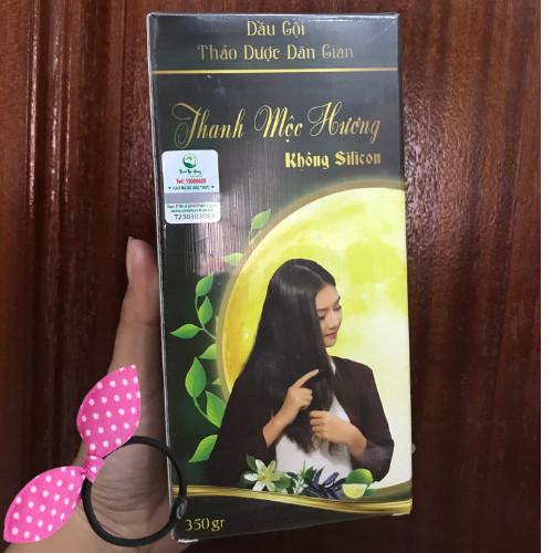 Combo 2 chai Dầu gội thảo dược Thanh Mộc Hương (mẫu mới), Tặng Kèm Cột Tóc Tai Thỏ Màu Ngẫu Nhiên