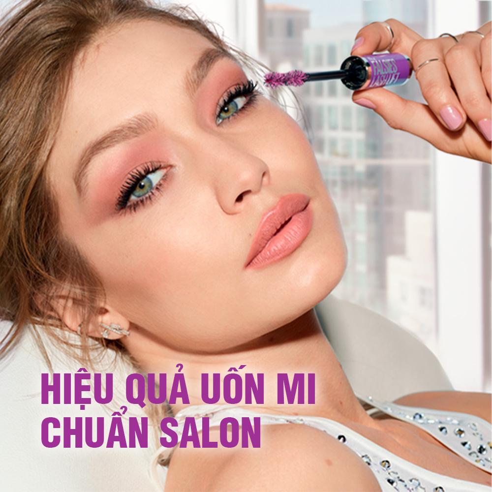 Hình ảnh Mascara Uốn, Làm Dày và Dài Mi Tức Thì Maybelline Falsies Lash Lift không lem không trôi Waterproof 8.6ml