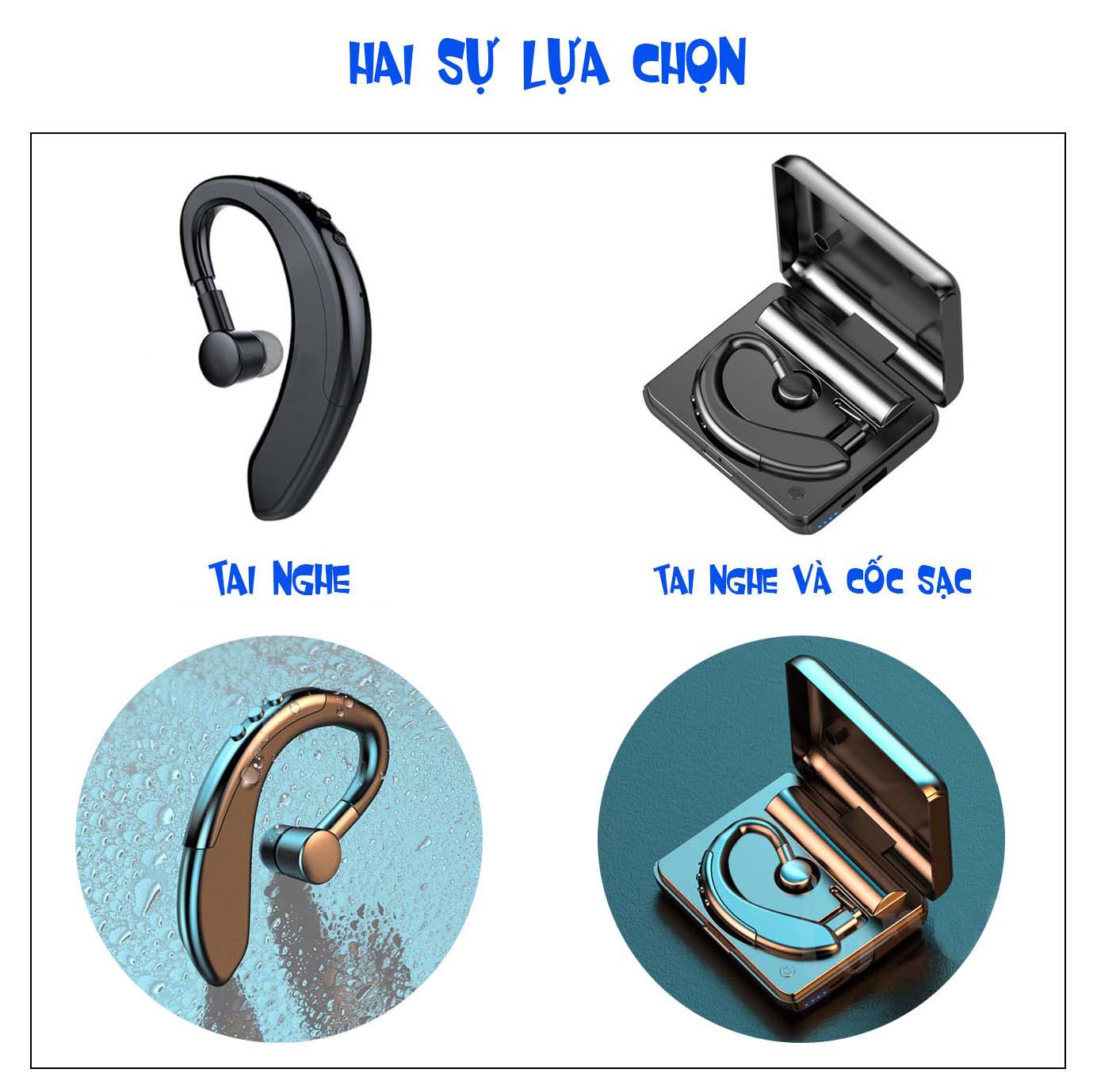 Tai nghe Bluetooth không dây AMOI Y10 sạc siêu nhanh 20 phút, cốc sạc kiêm sạc dự phòng 1200mAh, hỗ trợ đàm thoại nghe nhạc, tai nghe nhét tai không dây, tai nghe có mic-Hàng chính hãng