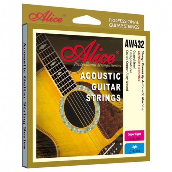Dây Guitar Acoustic Alice 432