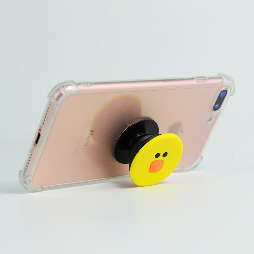 Gía đỡ điện thoại đa năng, tiện lợi - PopSockets - Vịt Sally - Hàng Chính Hãng