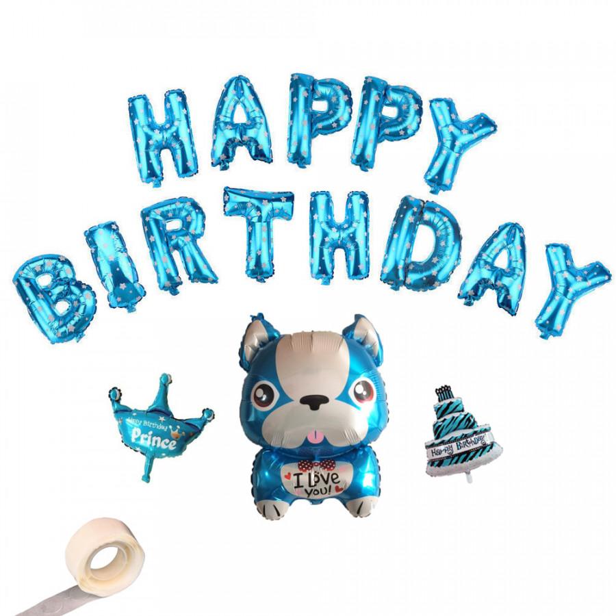 Combo bong bóng sinh nhật bé cún