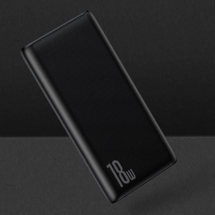 Pin sạc dự phòng hỗ trợsạc nhanh 18W dung lượng 10.000 mAh hiệuBaseus Pow cho Smartphone / Tablet / Laptop / Macbook - Hàng nhập khẩu