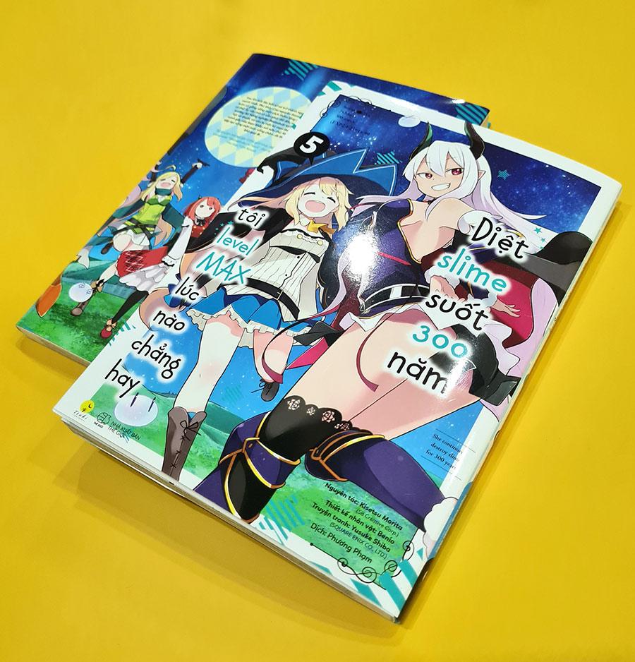 [Manga] Diệt Slime Suốt 300 Năm, Tôi Levelmax Lúc Nào Chẳng Hay (Tập 5)