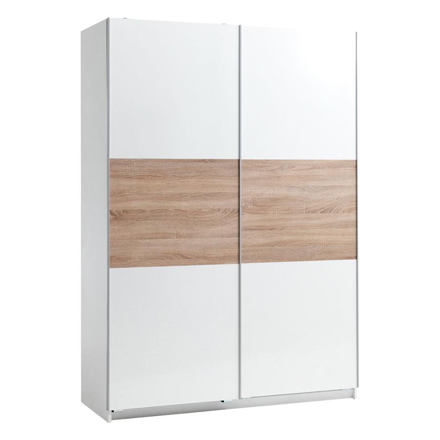 Tủ Quần Áo Sattrup Plus Cánh Trượt JYSK 3620917 (150 x 219 x 60 cm)