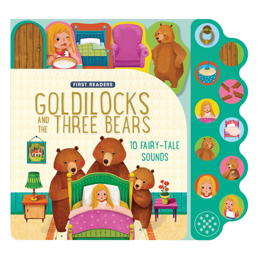 First Readers Goldilocks And The Three Bears (Sound Book)